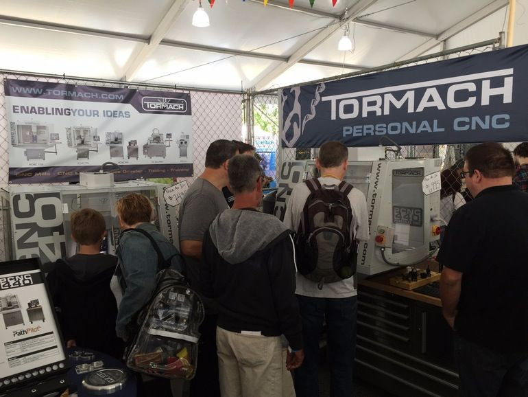 Tormach unveiled the new PCNC 440 at World Maker Faire in New York