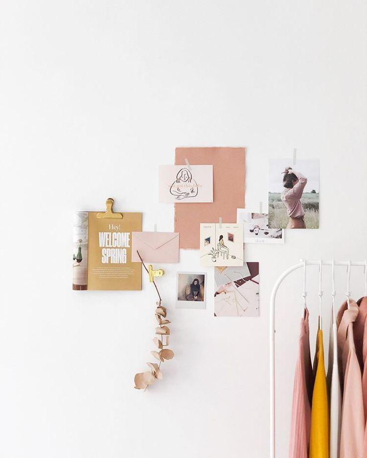 Minimalist Homeoffice Design:  Home Office Ideas, Mood Board Inspiration In 2020