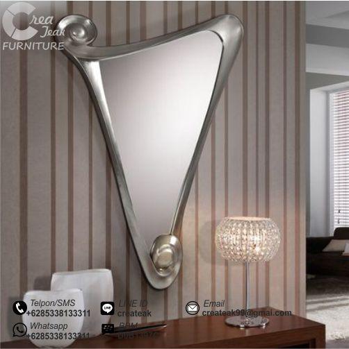 Cermin Minimalis Hias Harga Dinding Kaca