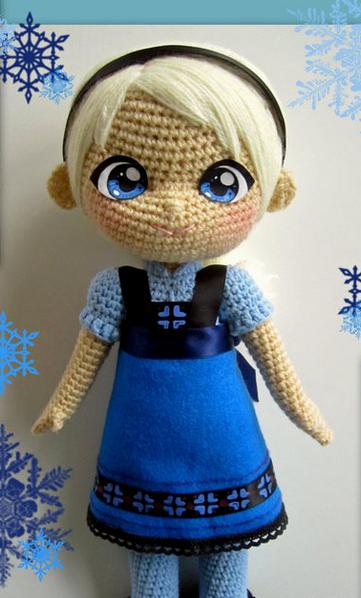 20 Free Frozen Patterns To Stitch Crochet And Knit Amigurumi