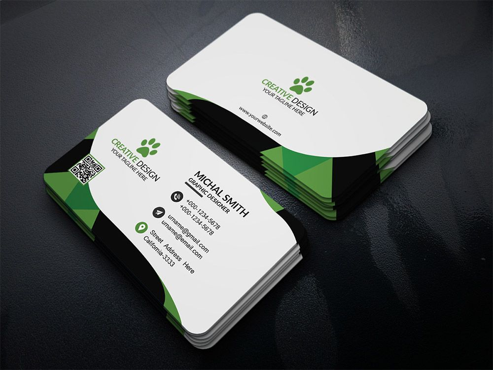 Cool Corporate Business Card PSD. Download Free Corporate Business ...