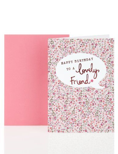Floral Wallpaper Design Birthday Card Greeting Cards Pinterest