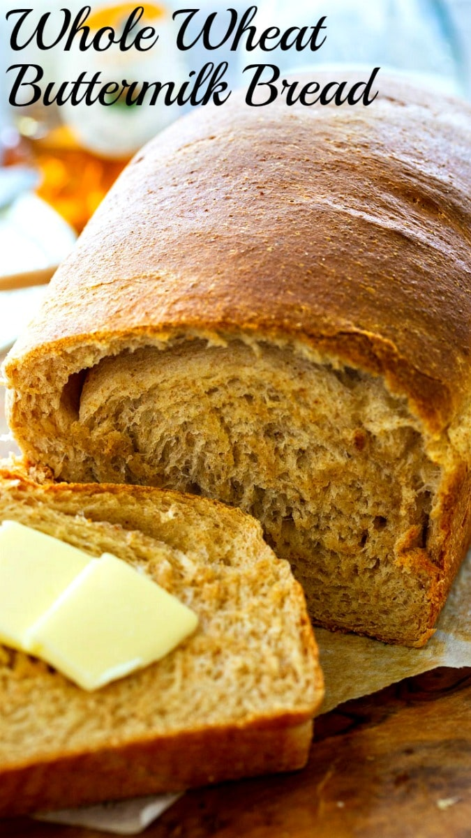 Whole Wheat Buttermilk Bread Spicy Southern Kitchen Recipe In 2020 Buttermilk Bread Bread Bread Recipes Homemade