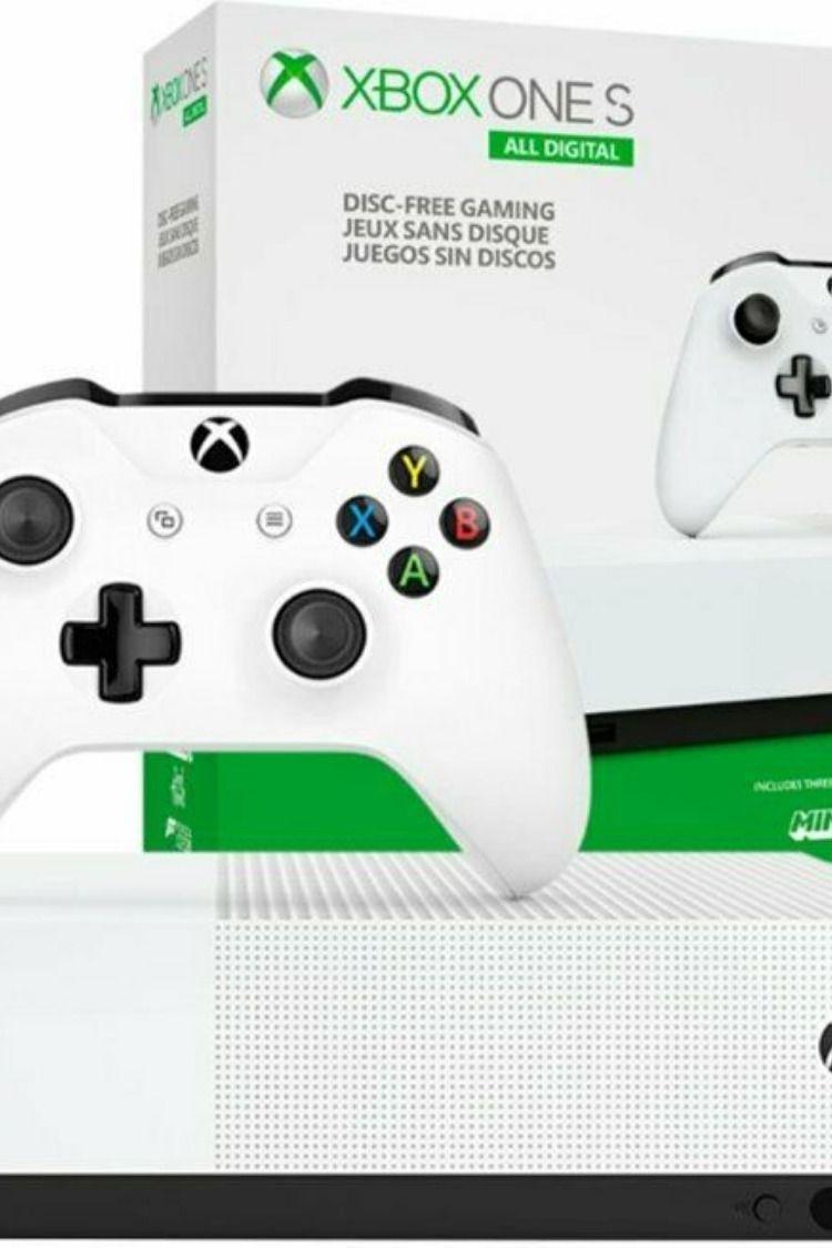 Microsoft Xbox One S All Digital Edition 1tb Xbox One S Retro Games Console Xbox One