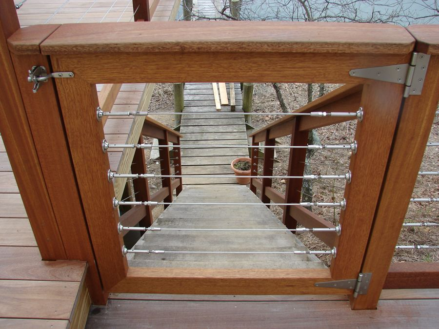 Pool Deck Gate Ideas safety gates for your deck rail come in all different types of styles materials and Backyard Ideas