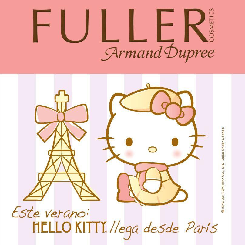 La ternura y romanticismo de Hello Kitty® llegan desde París