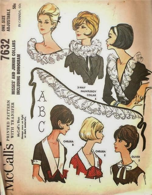 McCalls Choose Your Own Collar Pattern - From Sewing The 60\'s blog ...
