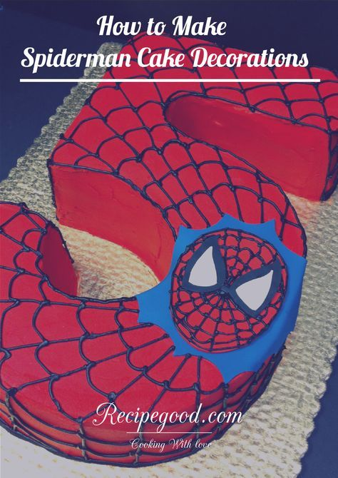 How To Make Spiderman Cake Decorations Sabinouille