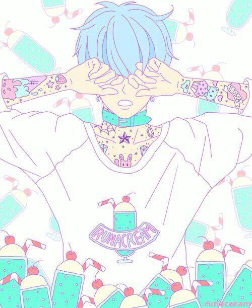 Aesthetic // Pastel \\ Anime Boy