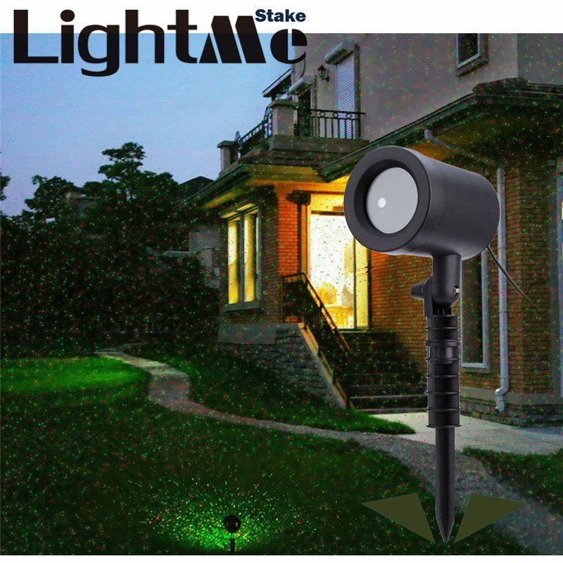 Premium Outdoor Rasen Licht Himmel Laser Scheinwerfer Licht Dusche ...
