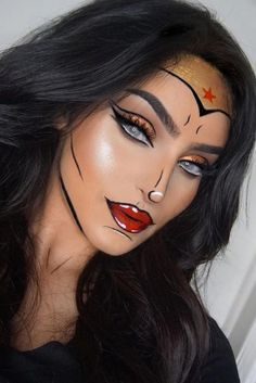 cool makeup ideas to wear this halloween  halloween