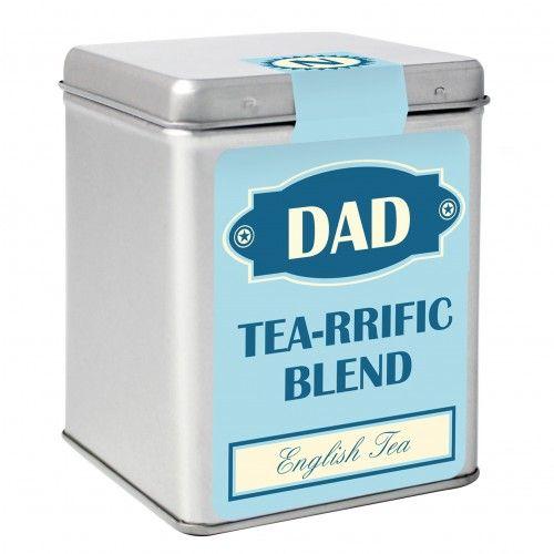 Blue Vintage Tea & Tin | Tea Tins | Exclusively Personal