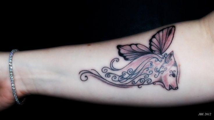 dfc43622f lupus wolf butterfly tattoo - Google Search | Lupus tattoes | Lupus ...