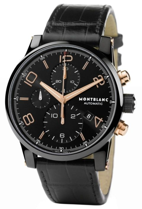 Montblanc Timewalker Dual Carbon Automatic Chronograph watch (Ref. 105805) 59795b5773