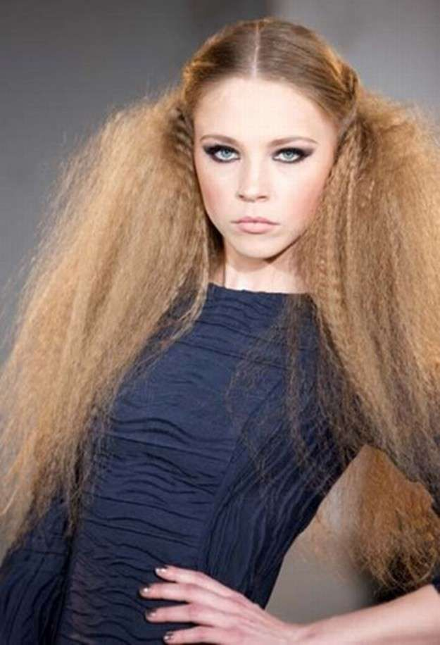 peinados nochevieja fotos propuestas pelo rizado peinados pelo rizado nochevieja coletas cardadas