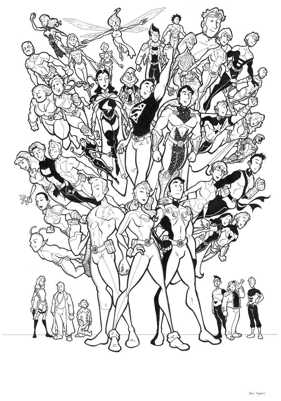 Pin de Stan Ford en Legion of Super-Heroes | Pinterest | Liga de la ...