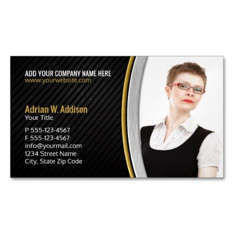 Modern Real Estate Photo Creative Insurance Agent Business Card