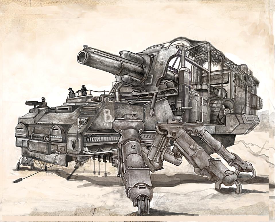 Heavy Artillery Arach by Monkey-Paw.deviantart.com on @deviantART