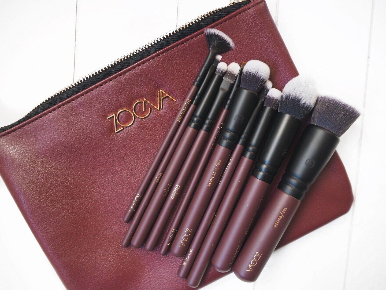 Zoeva Opulence Vegan Brush Set Zoeva brushes, Makeup