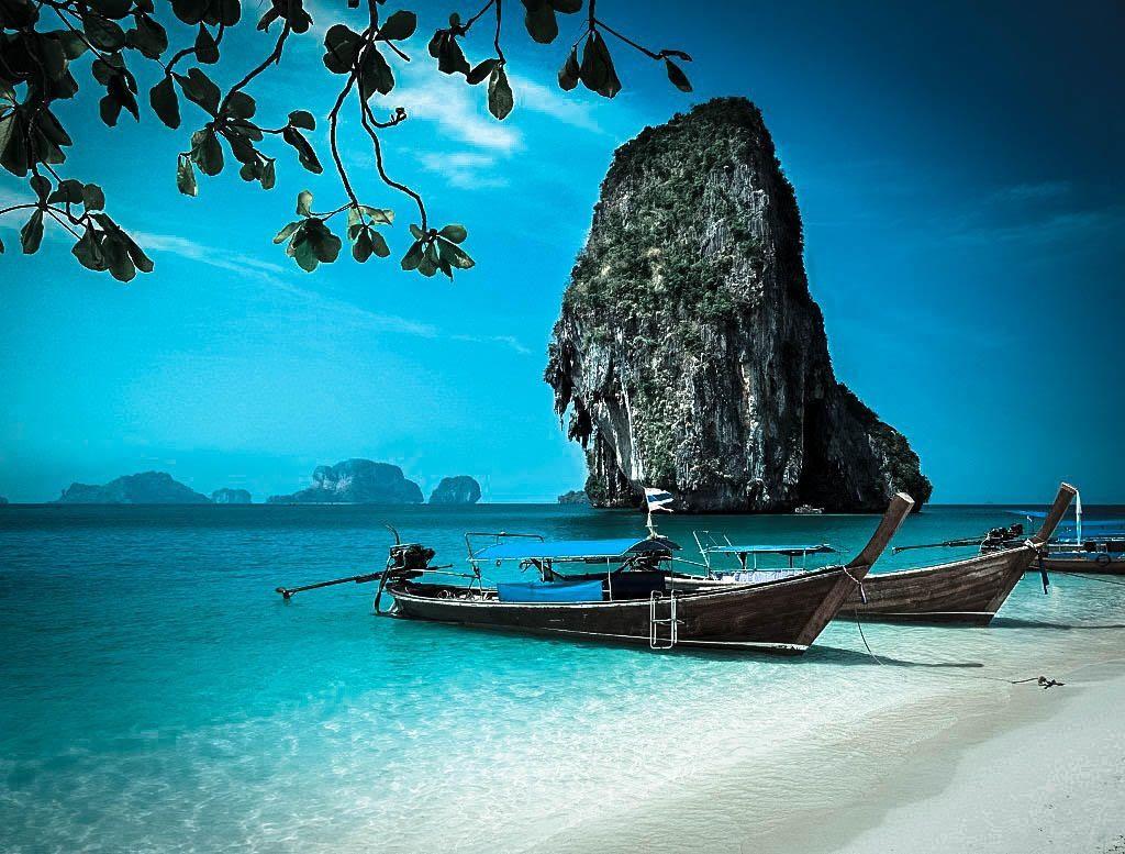 Railay Beach, Krabi #Thailand #travel - Get a quote here ...