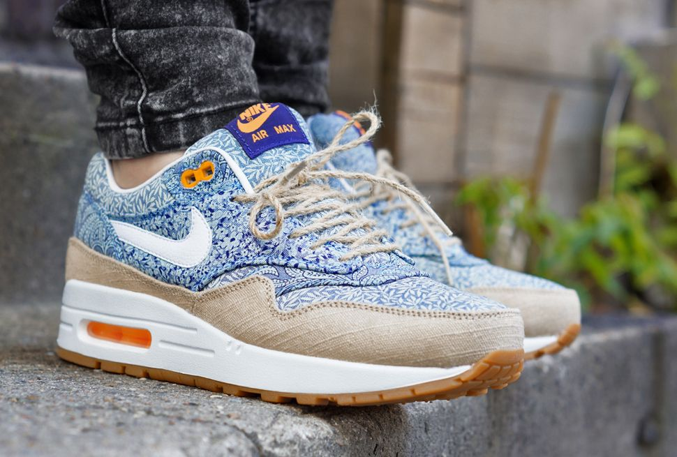 On Feet: Liberty x Nike WMNS Air Max 1 'Linen' - EU Kicks