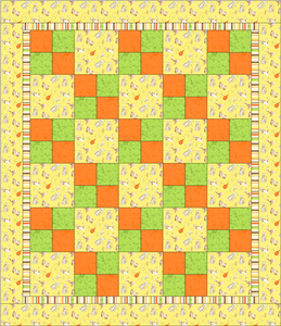 Four Patch Quilt (from Downy's Quilt for Kids) You will need 1-1/2 ... : kids quilt pattern - Adamdwight.com