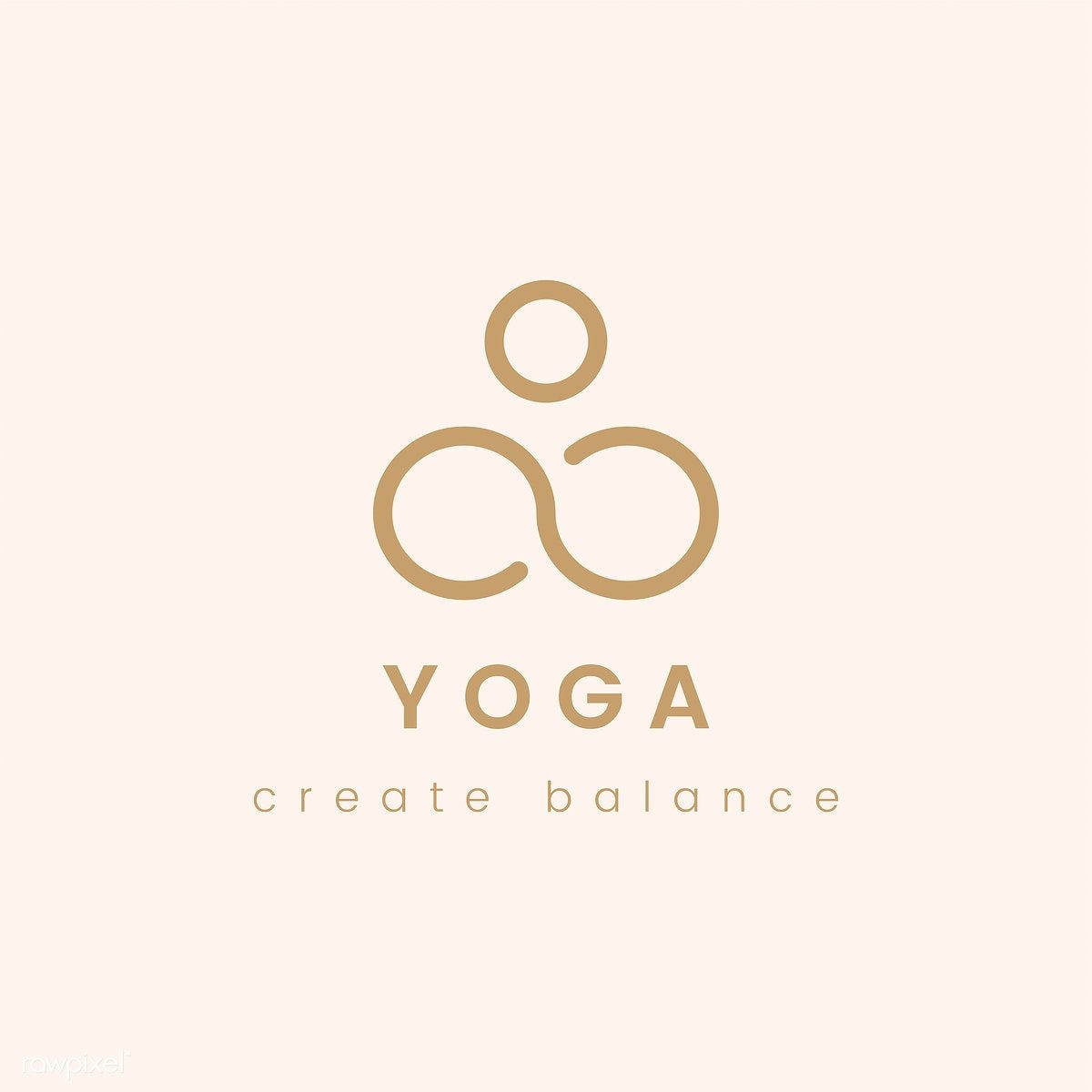 Download Free Vector Of Design Of Yoga Create Balance Logo Vector By Ningzk V About Yoga Yoga Studio Ad Advertisemen Yoga Logo Design Yoga Logo Logo Design