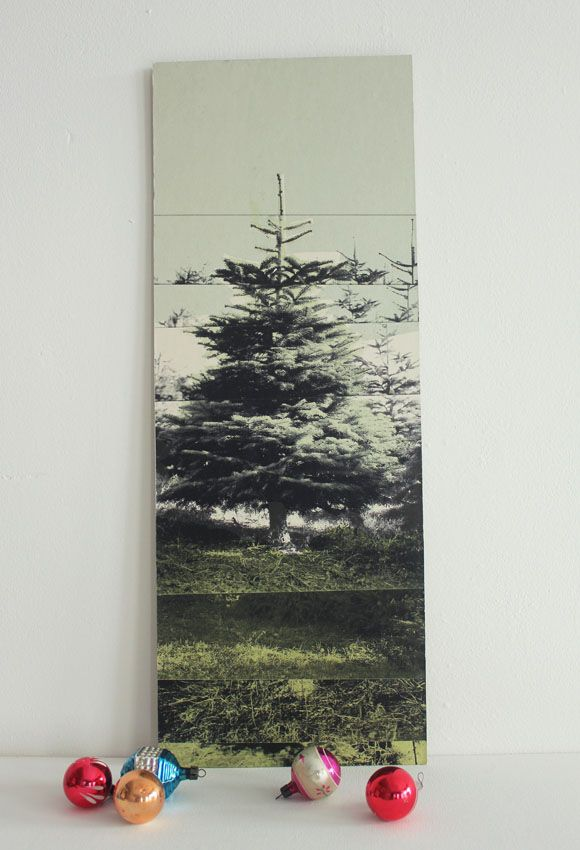 Miniature Christmas Tree For Life - Deborah Bowness - Lime Lace
