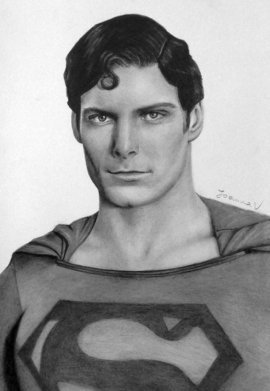 Christopher Reeve 3 Ritratti O Statue A B C D