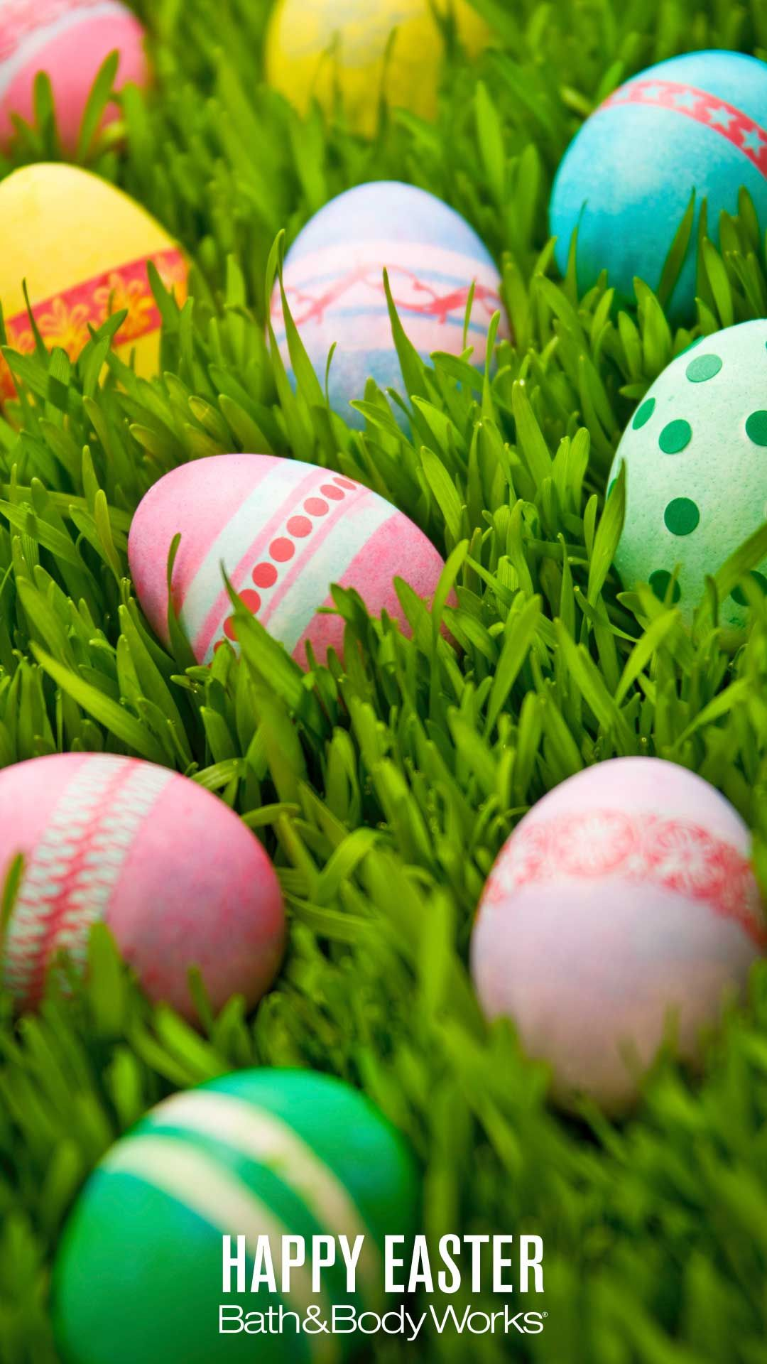 Easter Egg Hunt iPhone Wallpaper Easter wallpaper