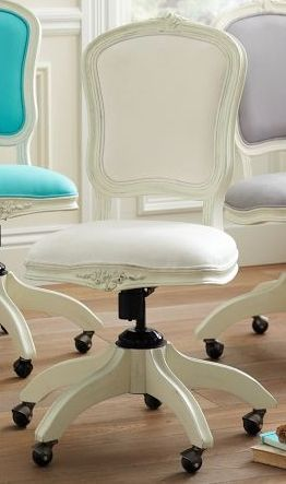 More Feminine Office Chair Home Furniture Home Decor