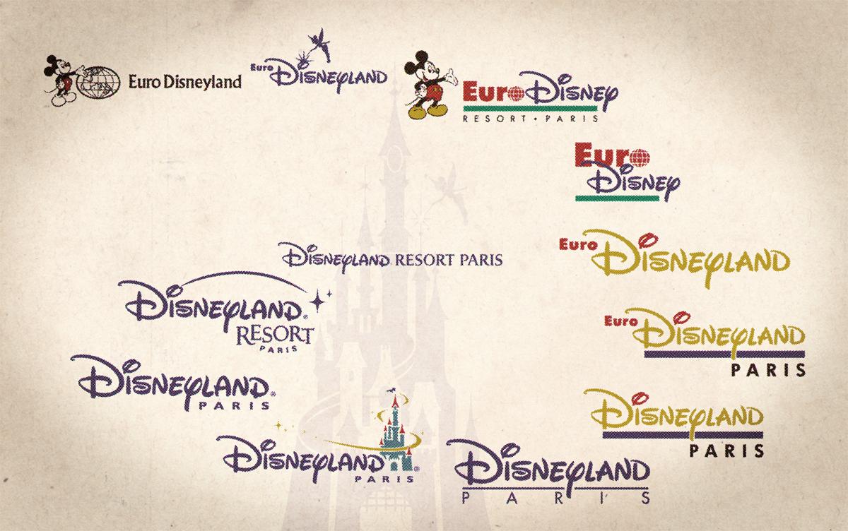 Evolution Name Und Logo Von Disneyland Paris Paris Resorts Disneyland Paris Paris Logo