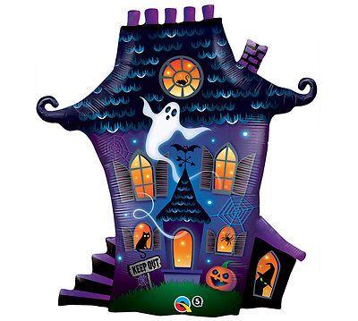 ghost decorations Spooky Ghost Pumpkin HAUNTED HOUSE Halloween - asda halloween decorations