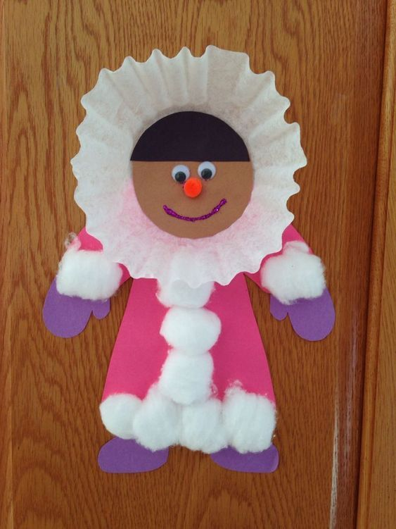 Eskimo Craft Winter Craft Preschool Craft Christmas