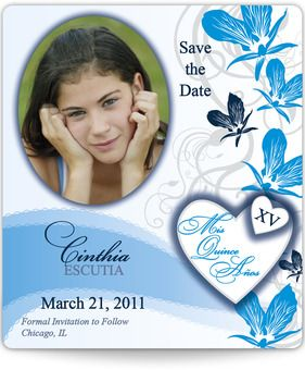 Enchanted Quinceanera Save the Date Magnets | Quinceanera ...