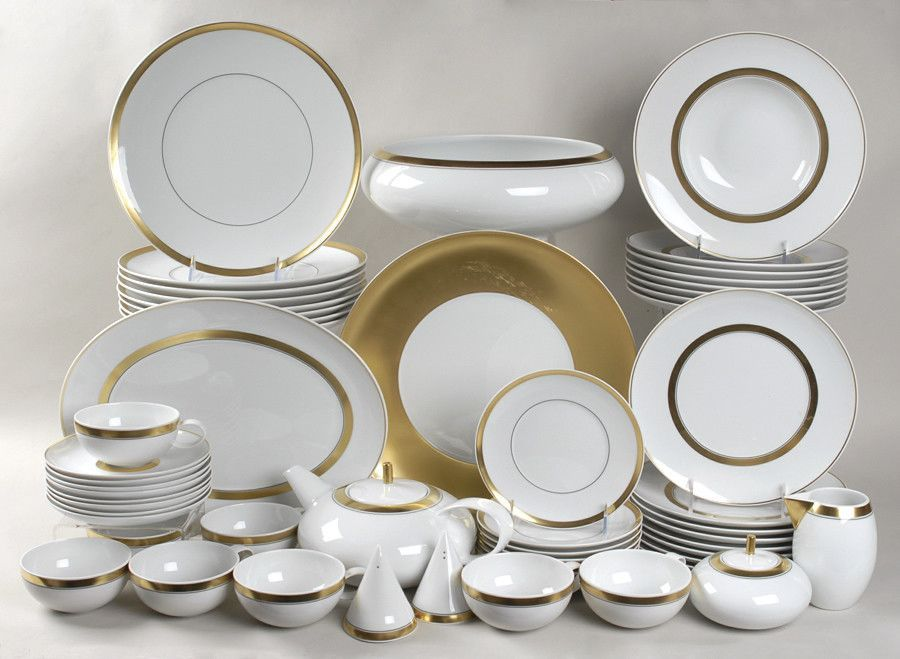 Domo Gold Small Oval Platter Luxury Tableware Tableware Design Porcelain Dinnerware
