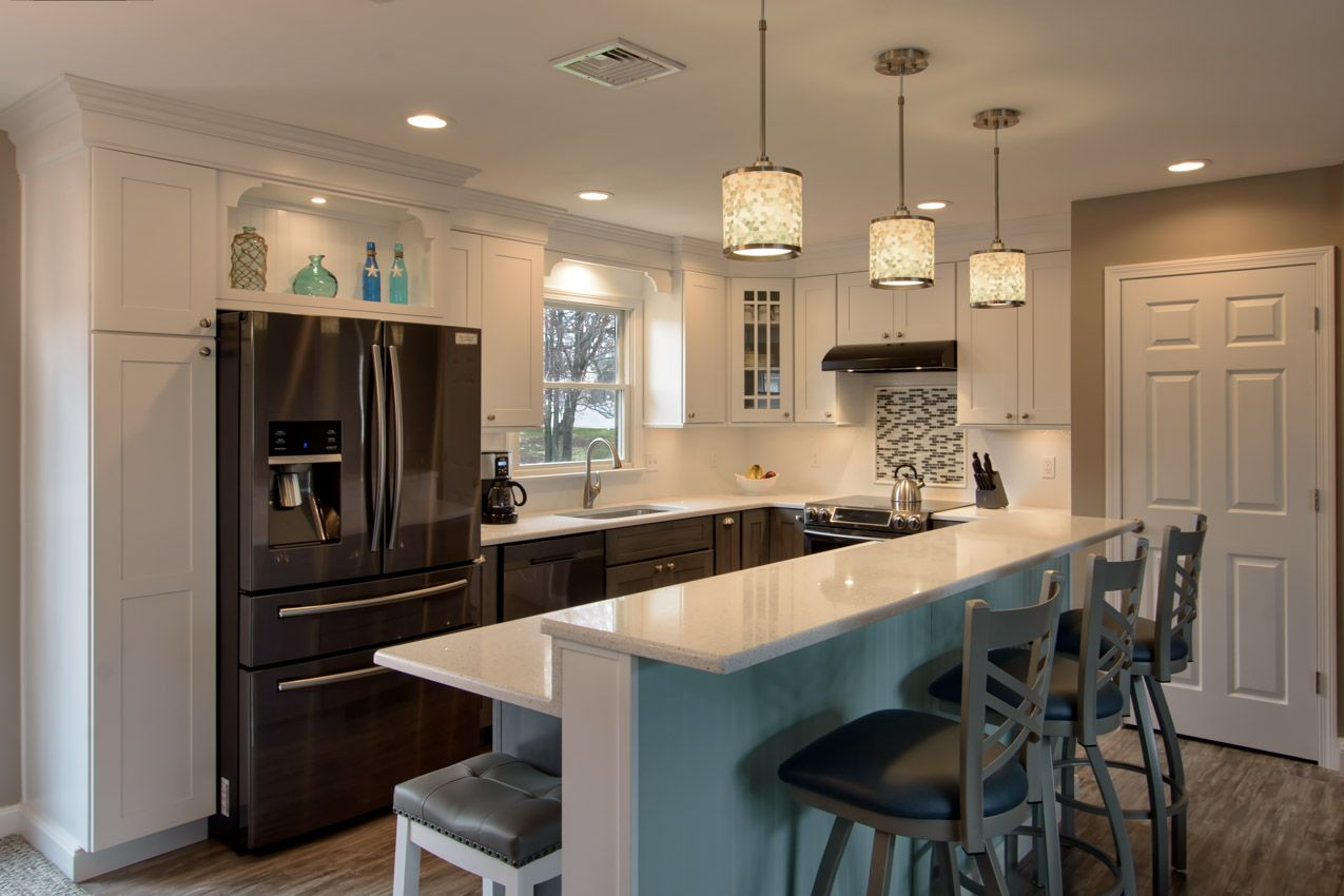 Washingtonville 2 After Kitchen remodel, Installing