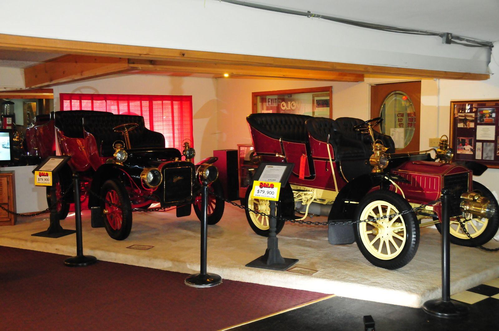 Brass cars at the Volo Auto Museum, Volo, IL. www.volocars.com   We ...