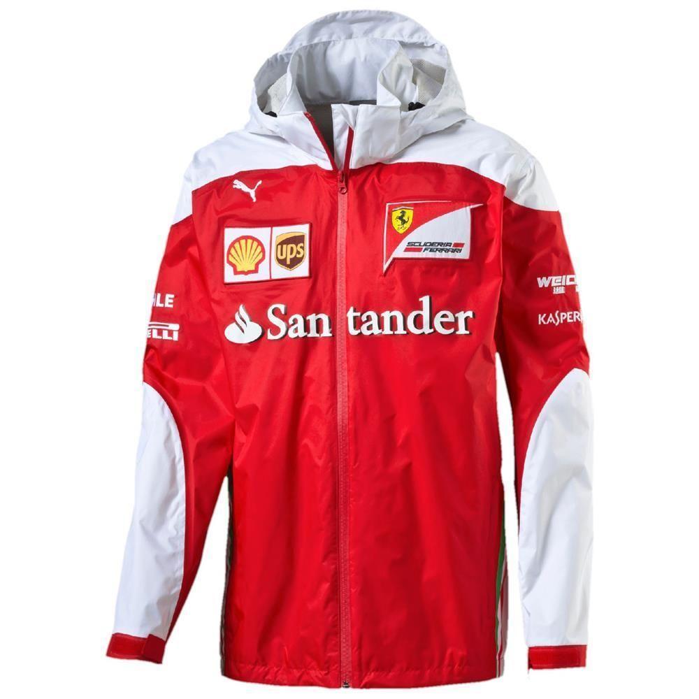 Puma Sf Team Jacket Scuderia Ferrari Official Formel 1 Jacke 761947 New Puma Ferrari Team Jackets Jackets Mens Jackets
