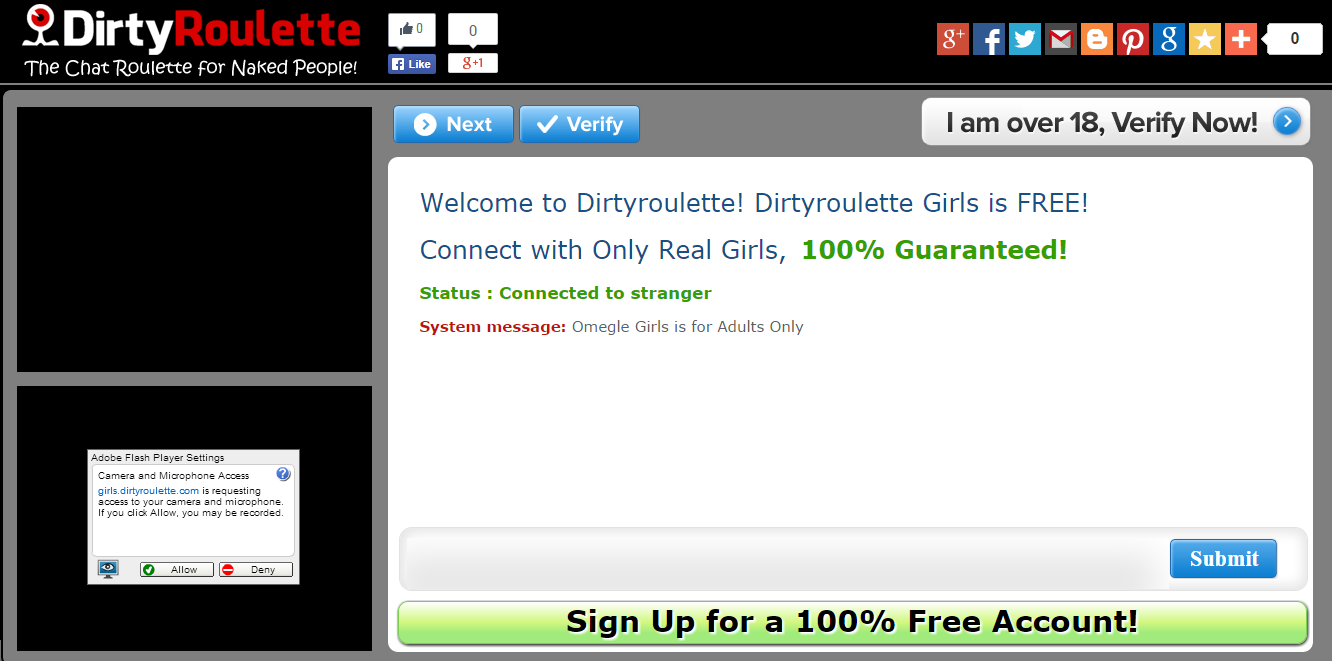 Dirtyroulette Girls: Connect with real girls with your webcam for free, fun and easy to use! -- dirtyroulette girls, chatroulette girls -- http://girls.dirtyroulette.com/