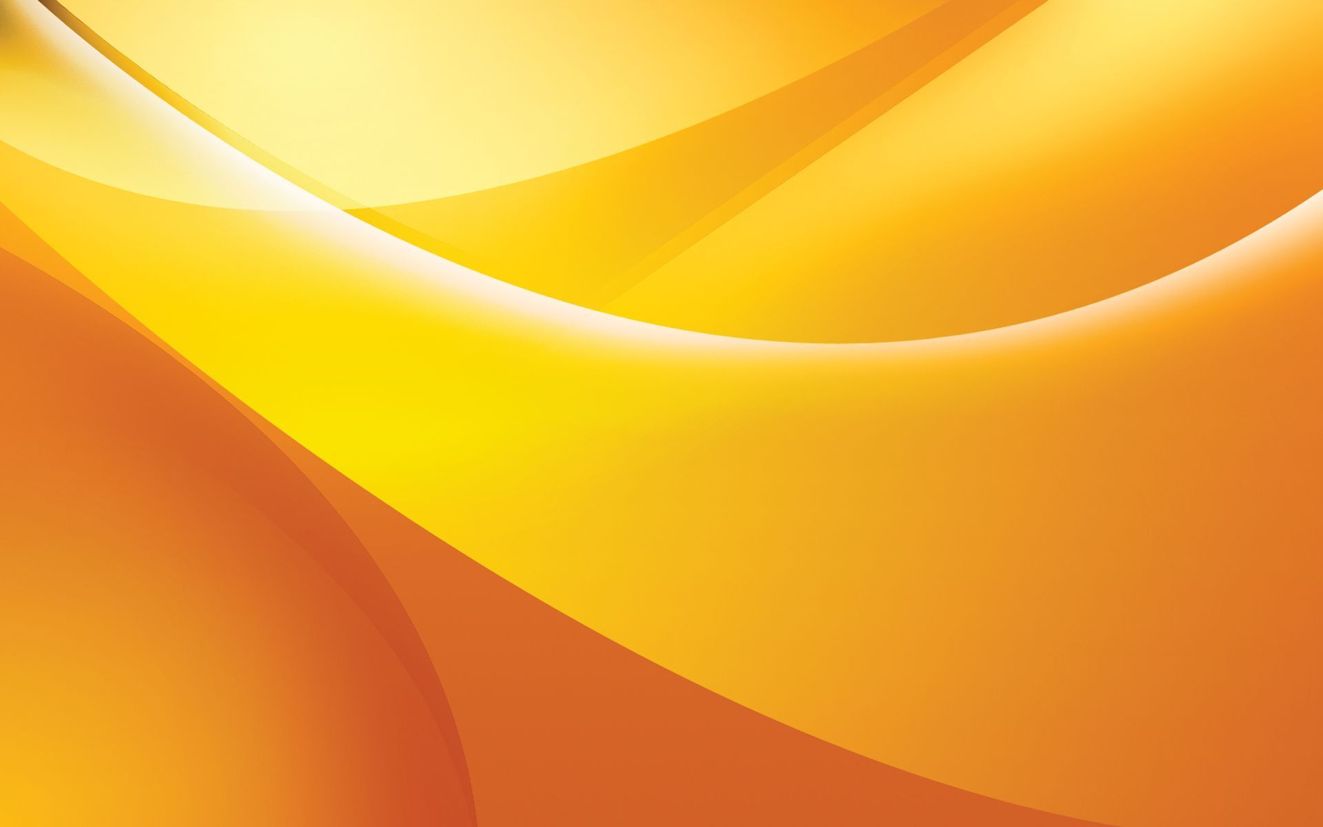 Awesome Abstract Yellow Orange Art Hd Wallpapers For Desktop