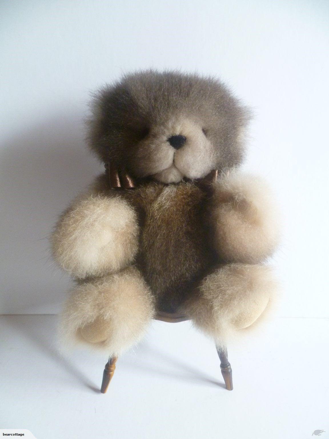 Possum Fur Natural Light Brown Small Teddy Bear Trade Me