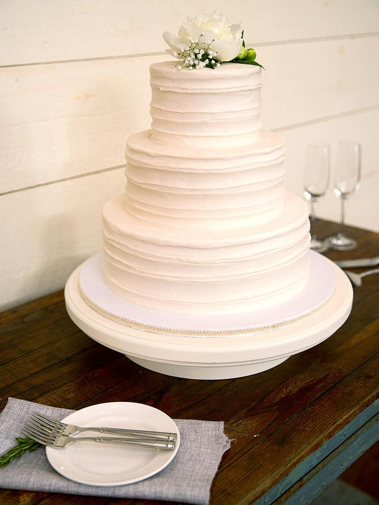 Simple Wedding Cakes That Prove Less Is More | Icing, Cake and ...