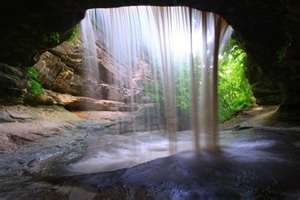 Starved Rock State Park, central Illinois