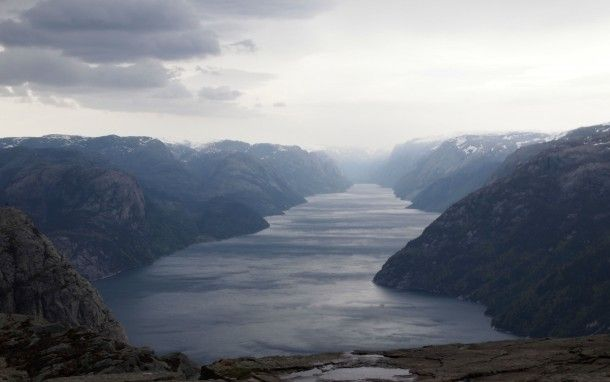 The Lysefjord Unedited Landscape Lysefjord Unedited Beautiful Landscapes Earth Pictures Places To Go