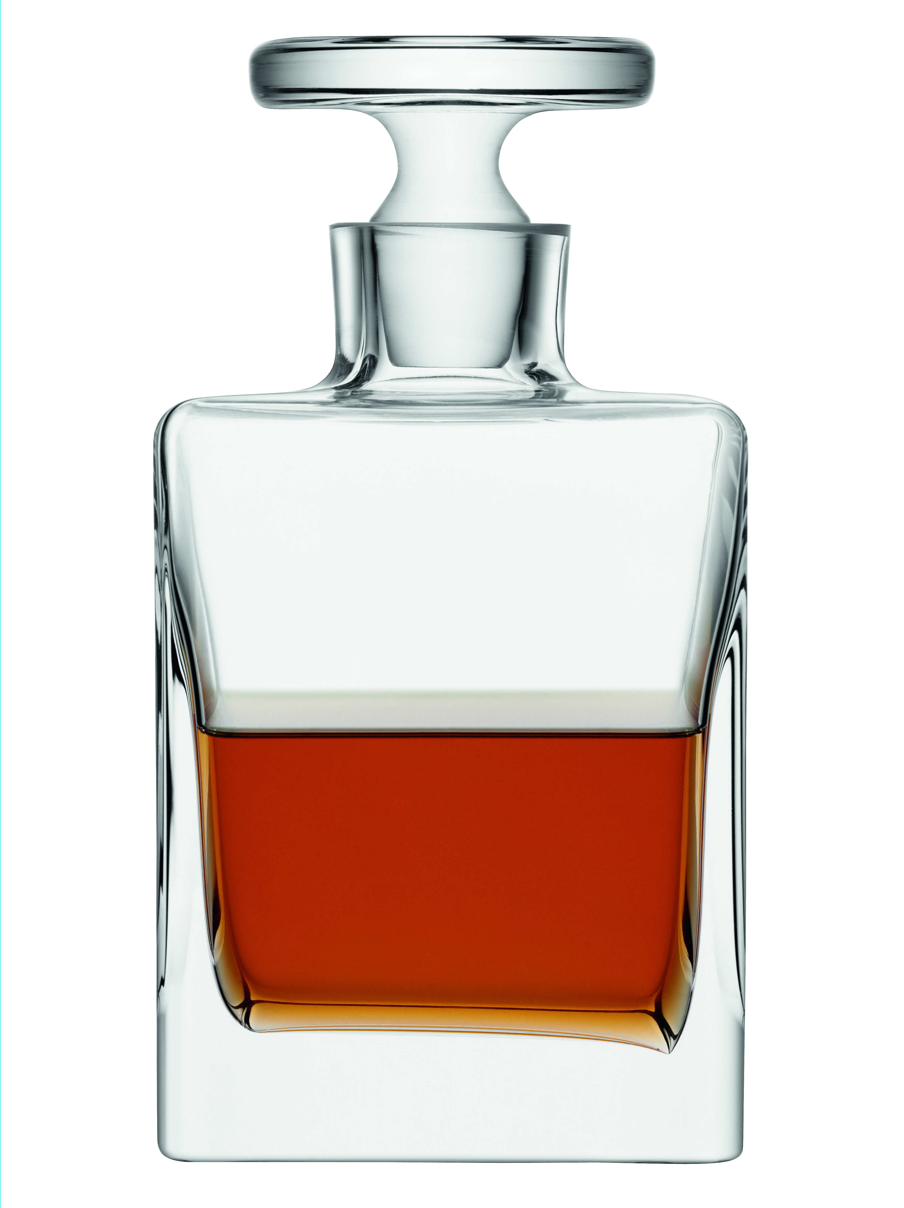A Fine Example Of Mouthblown Glass The Simple Classic Lines Of This Quad Decanter Make A Bold Statement Presented In Styli Decanter Decanters Handmade Glass