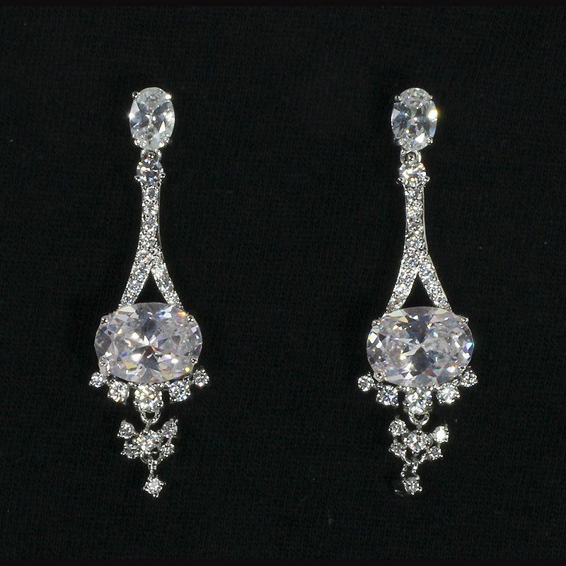 Rosaria earrings from Ciao Bella Jewellery ciaobellajewellery.com