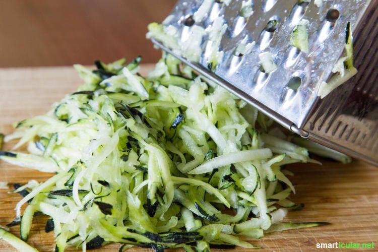 Zucchini einfrieren auf Vorrat - so einfach geht's