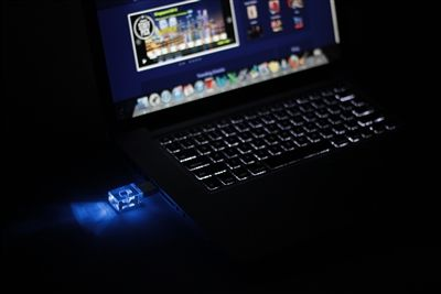 """This Crystal USB is designed from glass, with a steel hood. The USB has a very firm and unique feel that also has an LED light inside of the crystal.   Features Compatible PC or Notebook or Mac computer with USB port  True """"plug & play"""" supports hot swapping function  shockproof and moisture proof  LED indicator when the crystal usb is in use"""