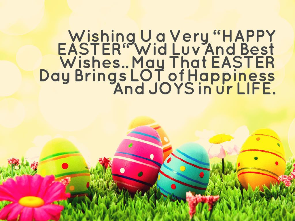 Easter Quotes: Sweet Happy Easter Sunday 2017 Wishes HD Pictures Images
